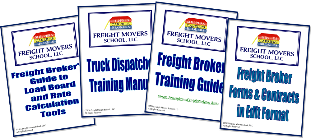 freight broker books and freight broker contract forms