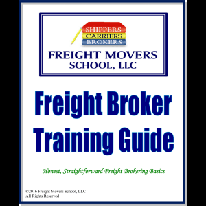 Learn how to become a freight broker with our freight broker training guide