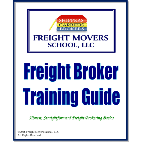 freight broker training books truck dispatcher training book rh freightmoversschool com freight broker agent training manual freight broker training guide free